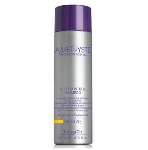 AMETHYSTE REGULATE SEBO CONTROL SHAMPOO 250ML - Warehouse Beauty