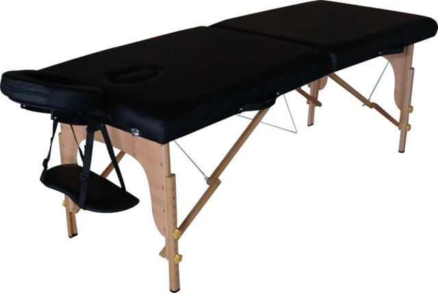 28 INCH BLM201 Black Portable Massage Table - Warehouse Beauty
