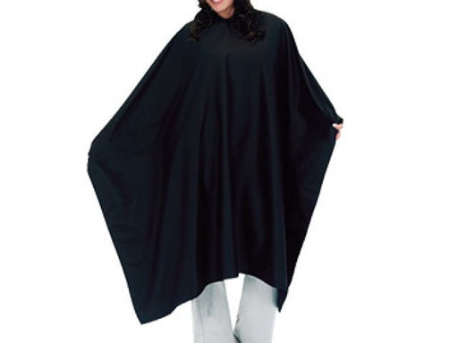 Vincent Super Size Cutting Cape Black ID #3976 - Warehouse Beauty