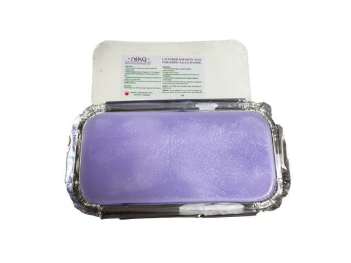 Lavender Paraffin 2 lbs NIKU ID #7487 - Warehouse Beauty