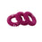 Trace Less Hair Ring 3pk Black, Purple, Pink, Brown, Clear - Warehouse Beauty