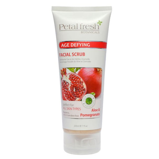 Petal Fresh 7 oz Aloe & Pomegranate Facial Scrub ID #6692 - Warehouse Beauty