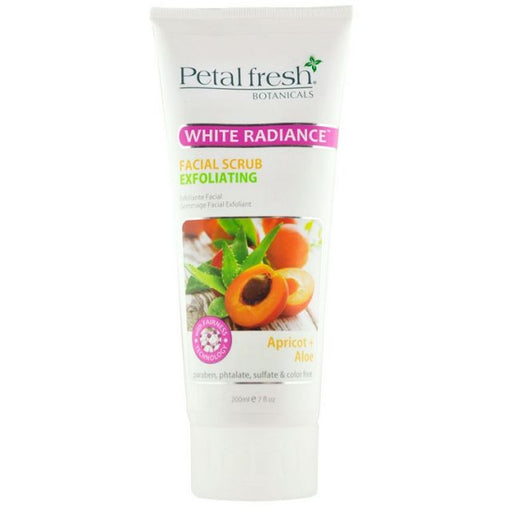Petal White Radiance 7 oz Apricot & Aloe Facial Scrub ID #6684 - Warehouse Beauty