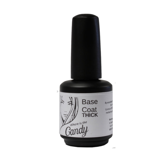 Candy THICK Base Coat 0.5oz - Warehouse Beauty