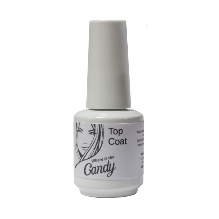 Candy Top Coat 0.5oz - Warehouse Beauty