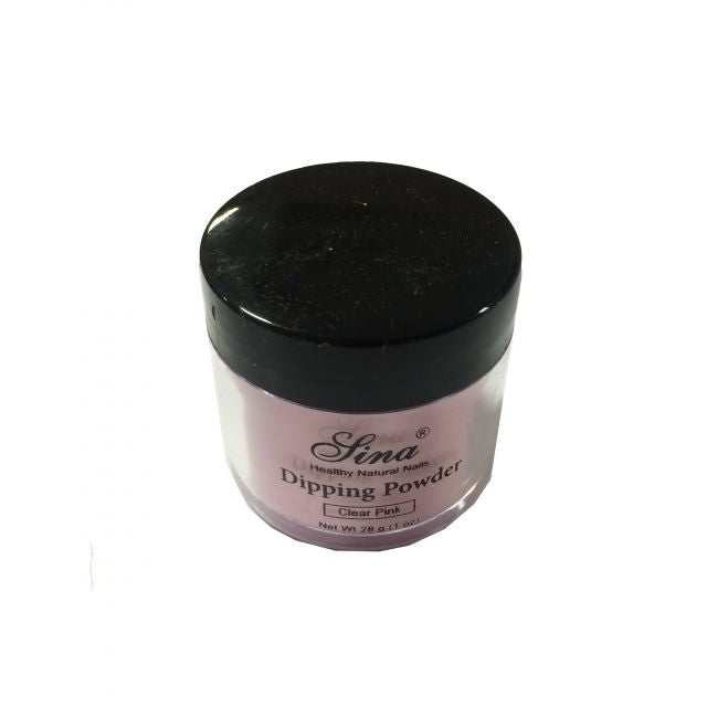 Dipping Powder Clear Pink 1oz - Warehouse Beauty