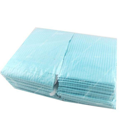 3-Ply Blue Dental Bibs 13'' x 18''  125pcs/pk - Warehouse Beauty