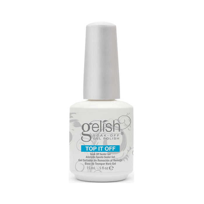 Gelish Top Coat 0.5oz - Warehouse Beauty
