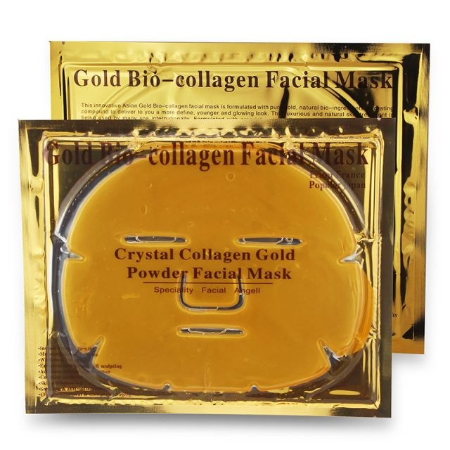 Gold Collagen Face Mask ID #8096 - Warehouse Beauty