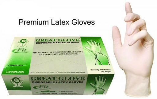 Latex gloves box of 100 Pairs Great Glove - Warehouse Beauty