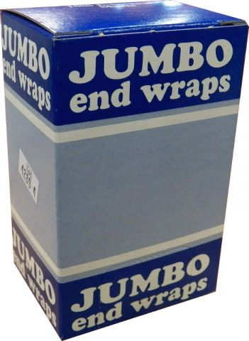 2 1/2 X 4 BLUE BOX Jumbo End Wrap - Warehouse Beauty