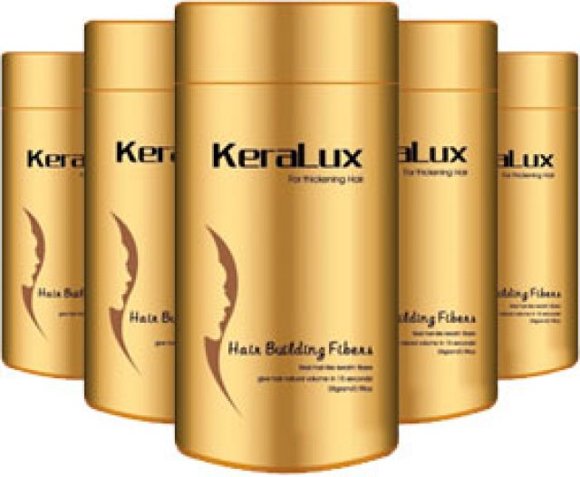 KeraLux 28g Hair Building Fibers Medium Brown, Dark Brown, Black, Silver - Warehouse Beauty