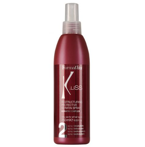 2 K.LISS RESTRUCTURING KERATIN SPRAY 250ML - Warehouse Beauty