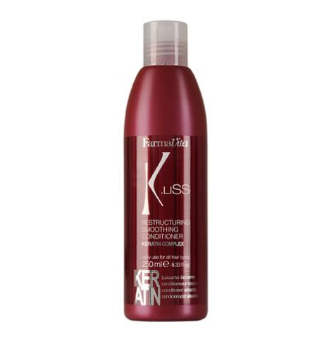 K.LISS RESTRUCTURING SMOOTHING CONDITIONER 250ML ID #6142 - Warehouse Beauty