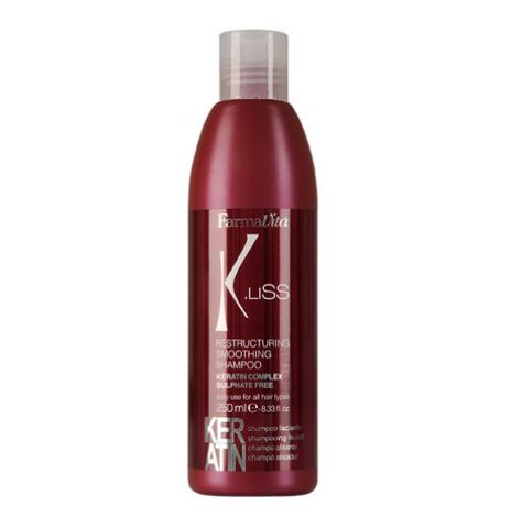 K.LISS RESTRUCTURING SMOOTHING SHAMPOO 250ML ID #6144 - Warehouse Beauty