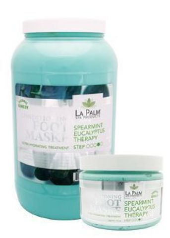 Foot Mask 12oz Spearmint La Palm ID #8013 - Warehouse Beauty