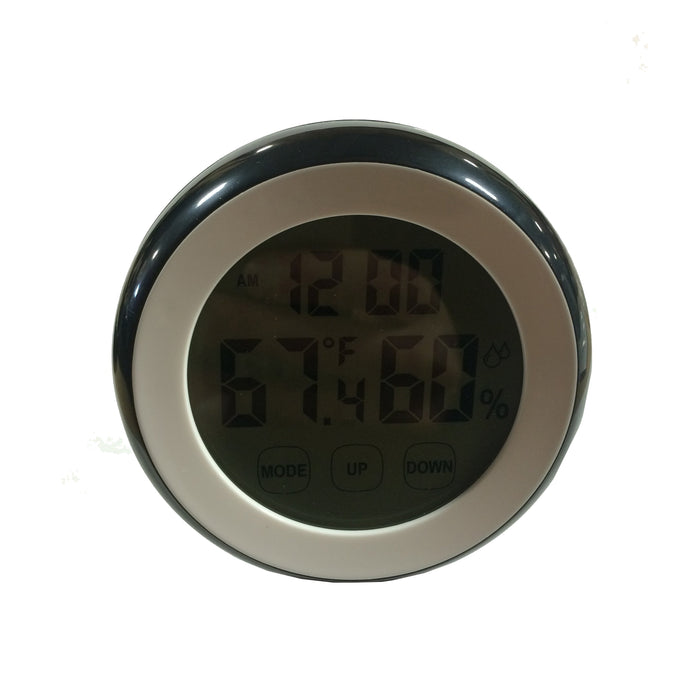 Humidity Temperature Clock Large LCD Display