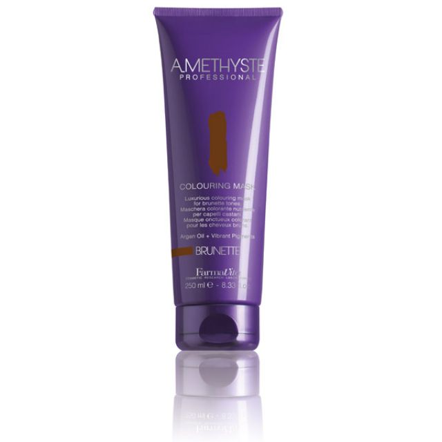 Amethyste Coloring Mask Brunette 250ml - Warehouse Beauty
