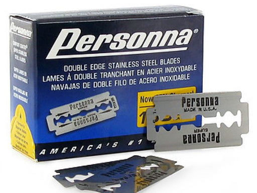 Personna Double Edge Blades 100 pack ID #3931 - Warehouse Beauty