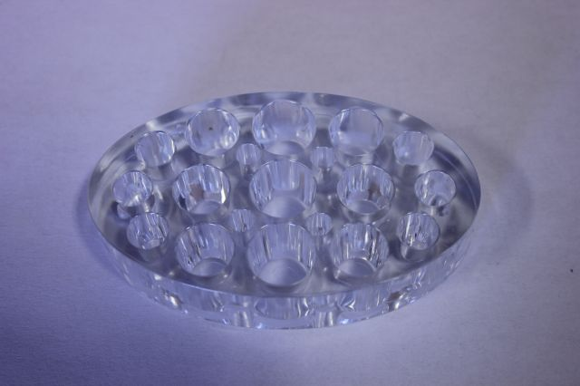 Pigment Cup Holder Clear Oval