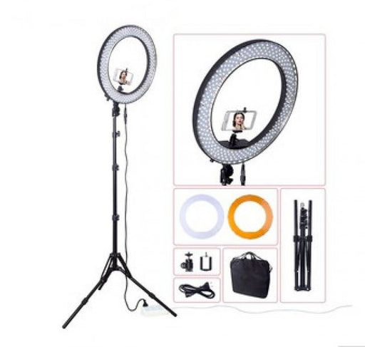LED Ring Light with stand ID #8340 - Warehouse Beauty