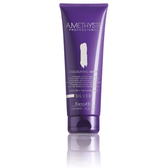 Amethyste Coloring Mask Silver 250ml - Warehouse Beauty