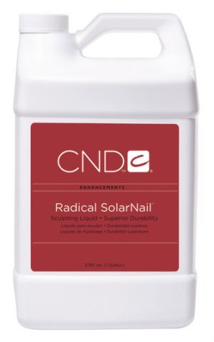 CND Radical Solar Nail Liquid 1 Gallon - Warehouse Beauty