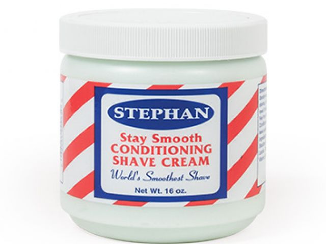 Stephan Stay Smooth Shave Cream 16oz ID #3905 - Warehouse Beauty