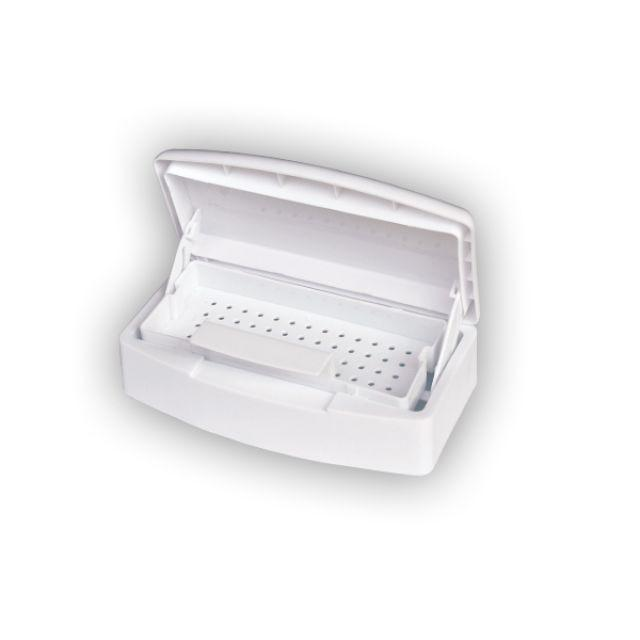 White Disinfecting Sterilizing Tray - Warehouse Beauty