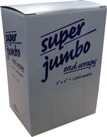 SUPER JUMBO 3X4 (50) End Wraps ID #6254 - Warehouse Beauty