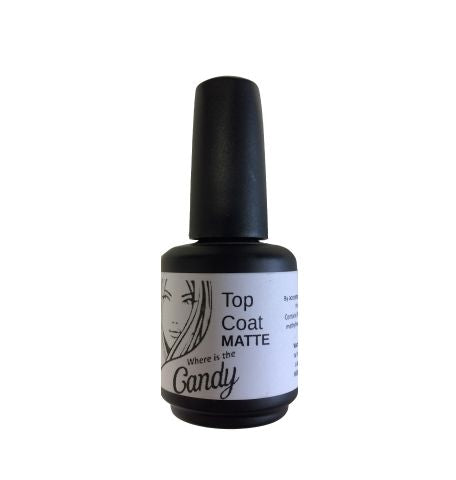 Candy Matte Top Coat - Warehouse Beauty