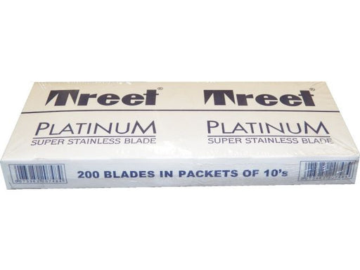Treet Platinum Razor Blade 200 ct ID #6241 - Warehouse Beauty