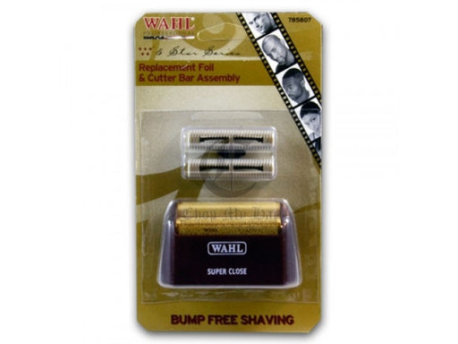 Wahl Shaver Foil and Cutter Bar Assembly ID #3539 - Warehouse Beauty