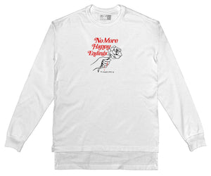 No More Happy Endings - Long Sleeve (WHITE)