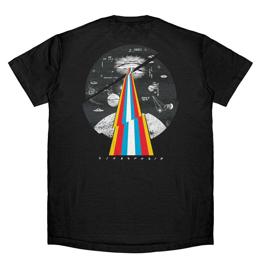 Worlds Apart - T-Shirt (Black)