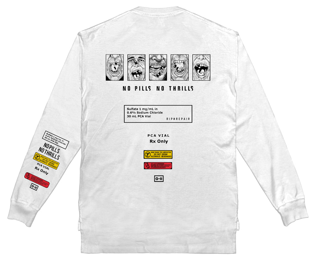 Highs & Lows Long sleeve - WHITE