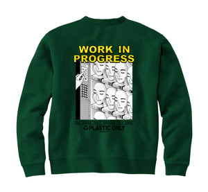 WORK IN PROGRESS - Crewneck (Pine) - RIPNRPR