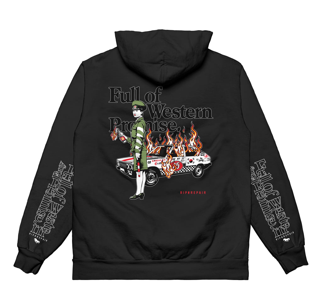 Full of Western Promise - Hoodie (Black)
