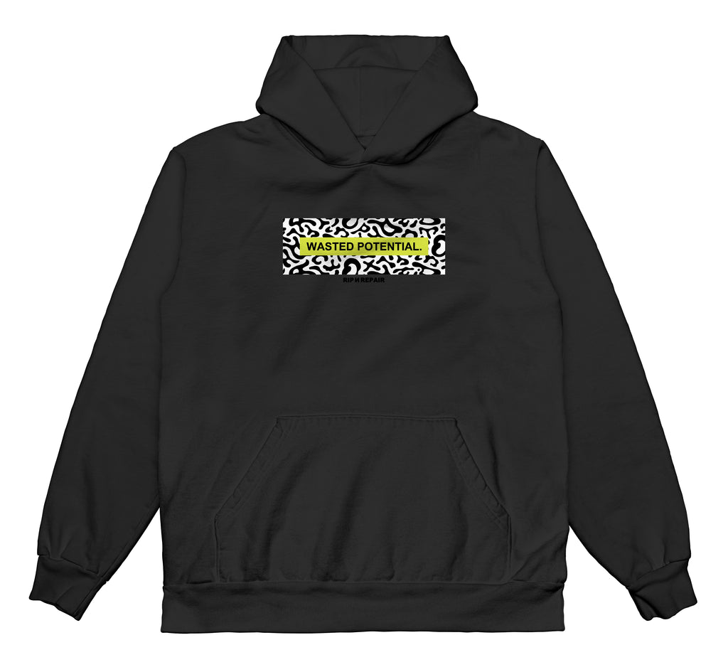 Wasted Youth - Hoodie (Black)