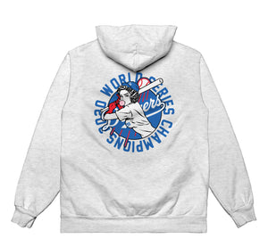 WORLD SERIES CHAMPS 2020 - Hoodie (Ash Grey) - RIPNRPR
