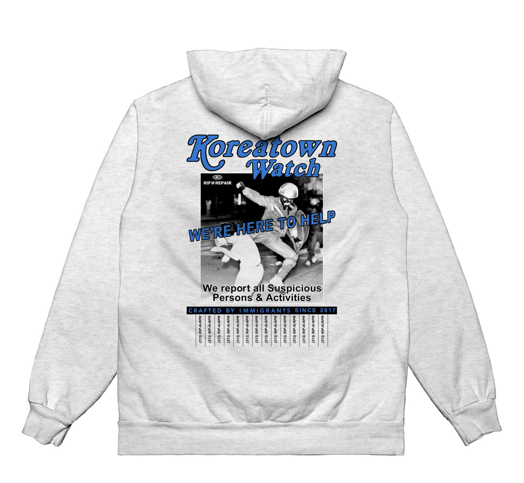 Neighborhood Watch - Hoodie (H.Grey) - RIPNRPR