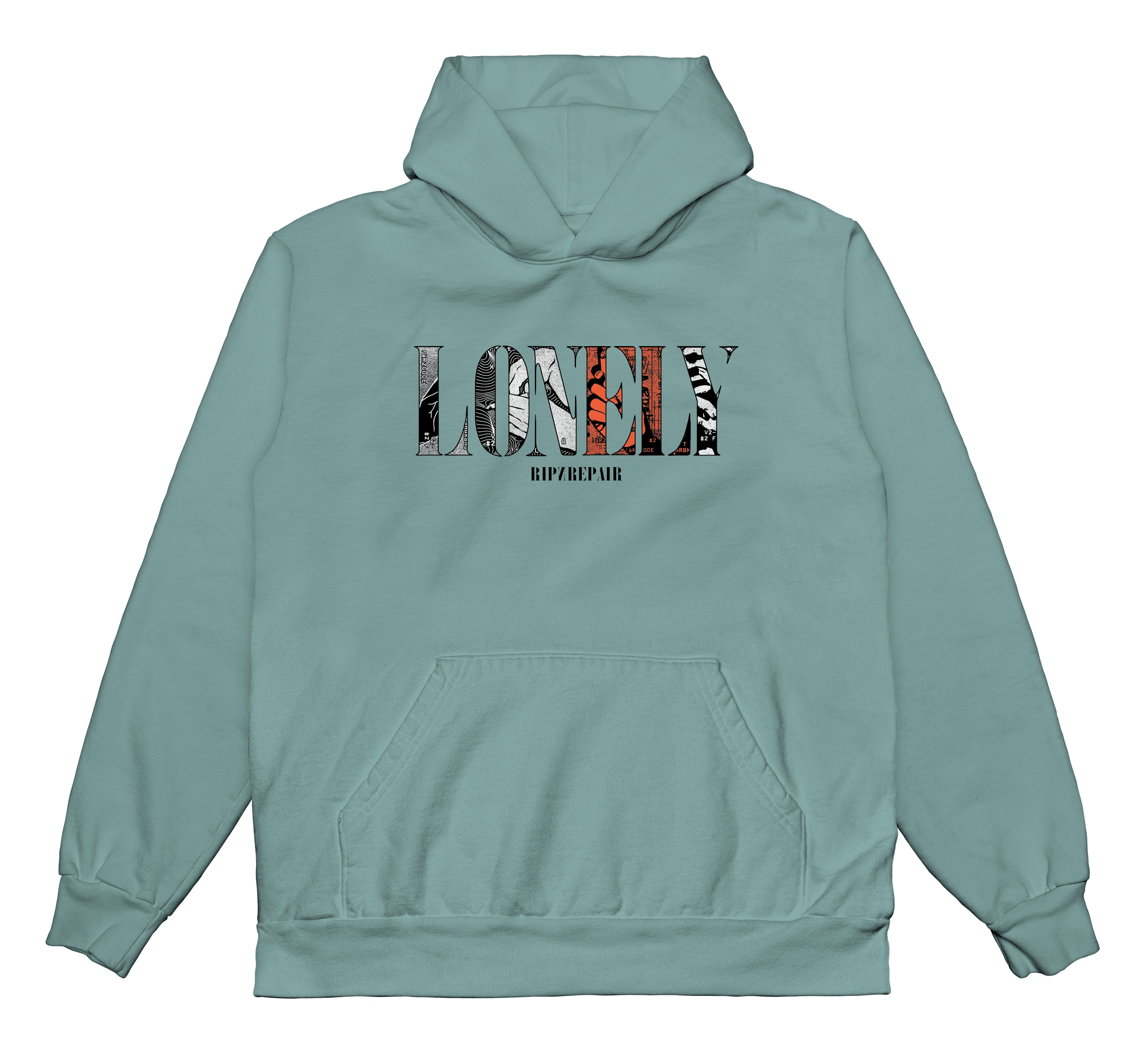 Wish You Were Here - Hoodie (Atlantic Green)