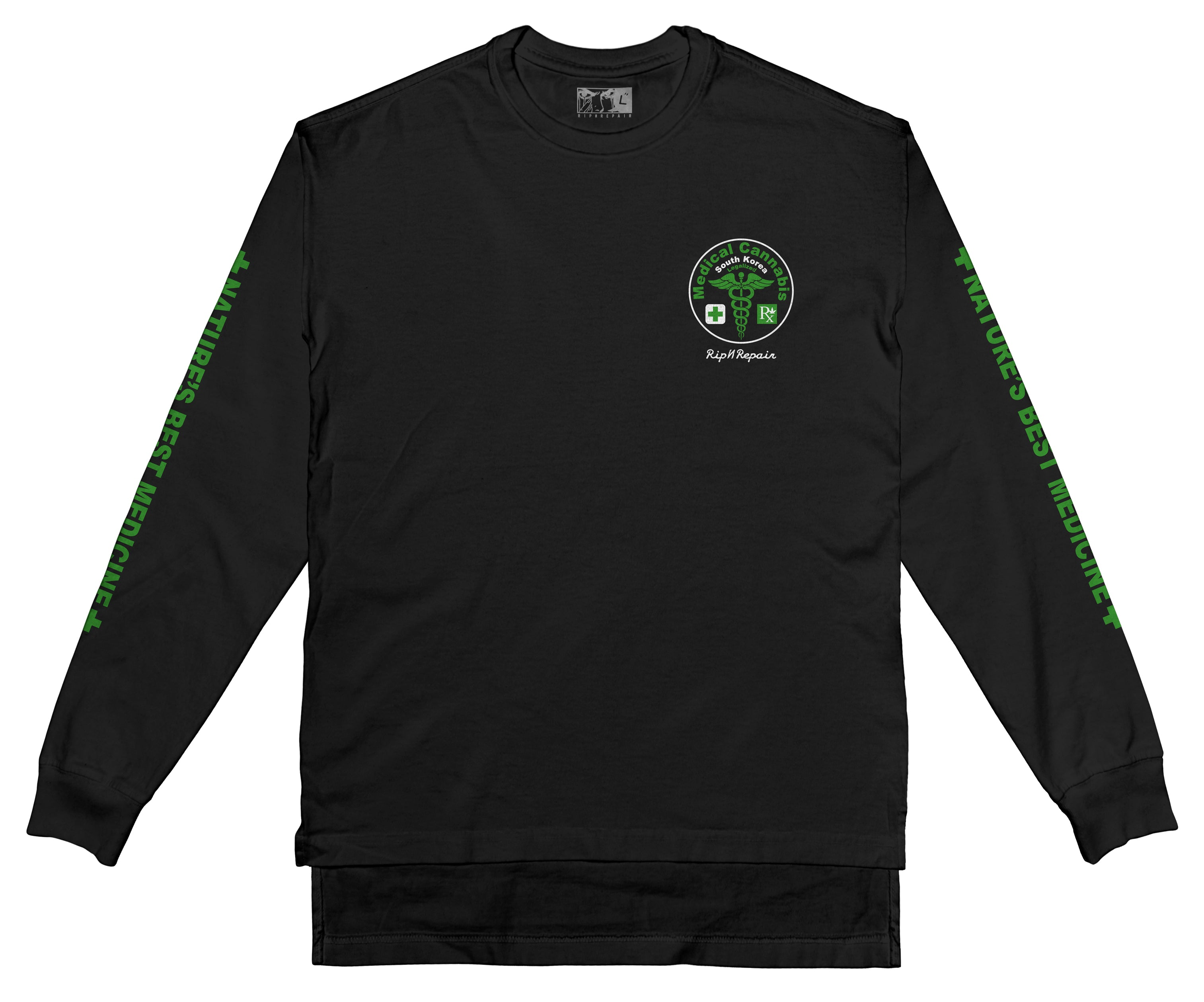 Natures Best - Long sleeve (Black) - RIPNRPR