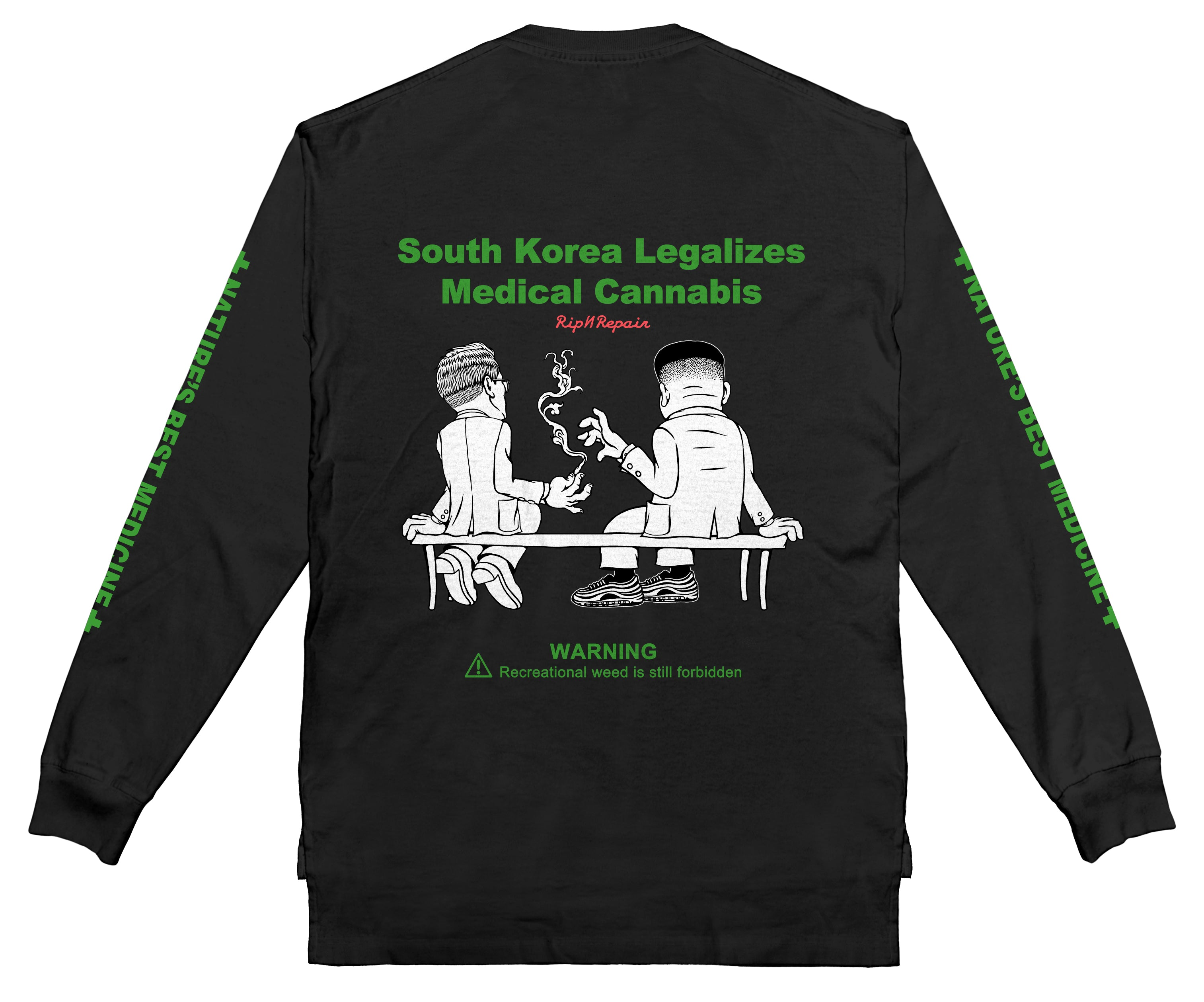 Natures Best - Long sleeve (Black)