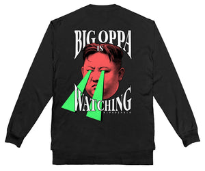 Big Oppa - Long Sleeve (Black)