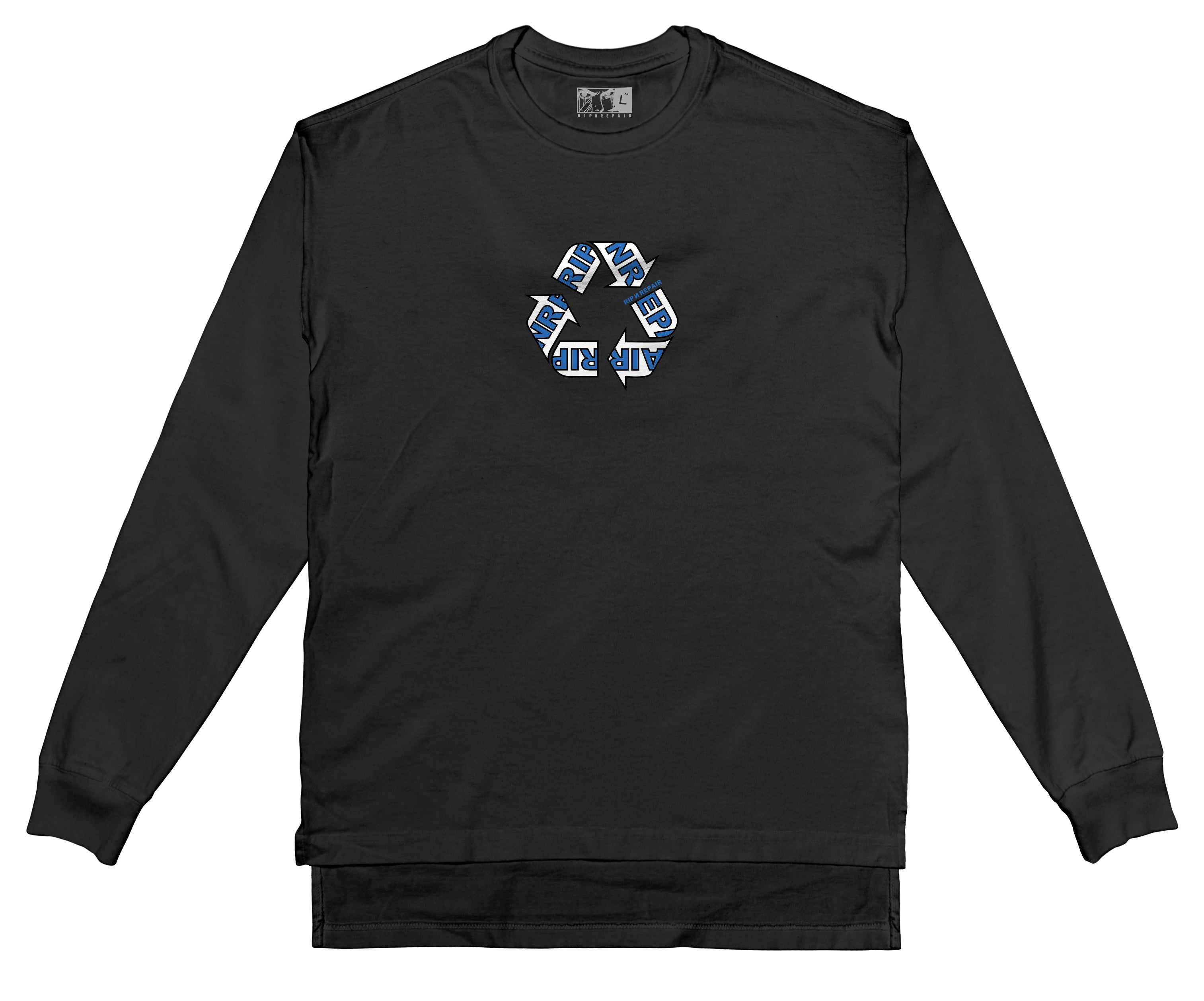 WIP - Long sleeve T-Shirt (Black) - RIPNRPR