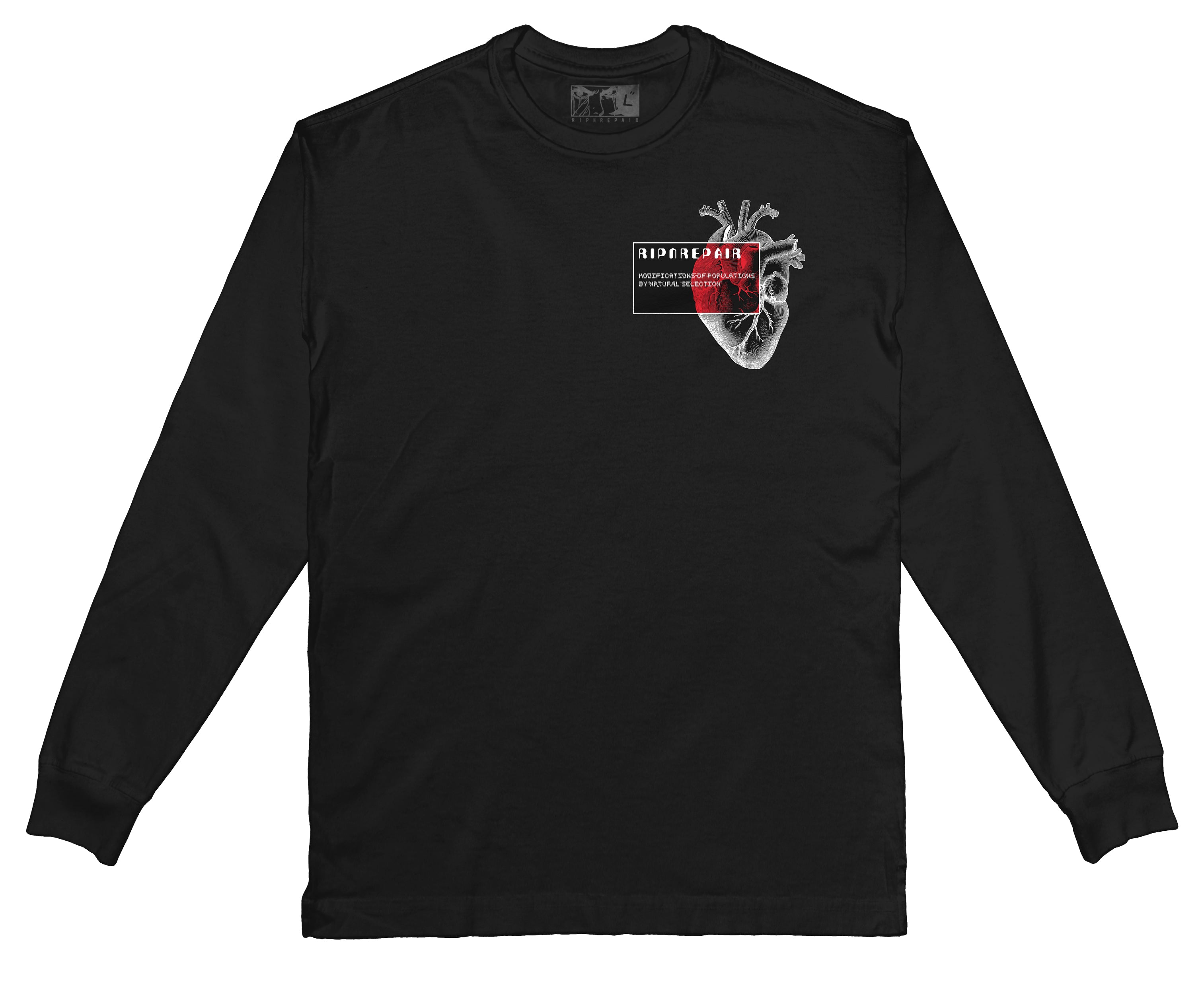 EXO - Long Sleeve (Black) - RIPNRPR