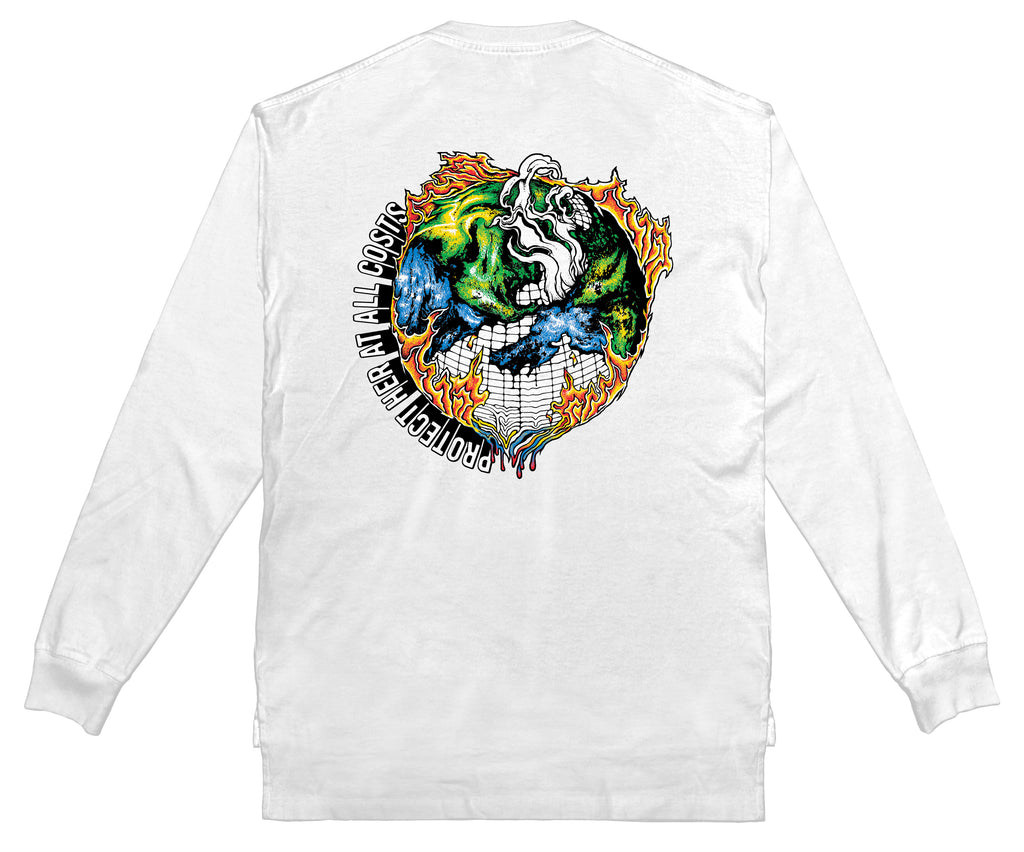PSA - Long Sleeve (White)