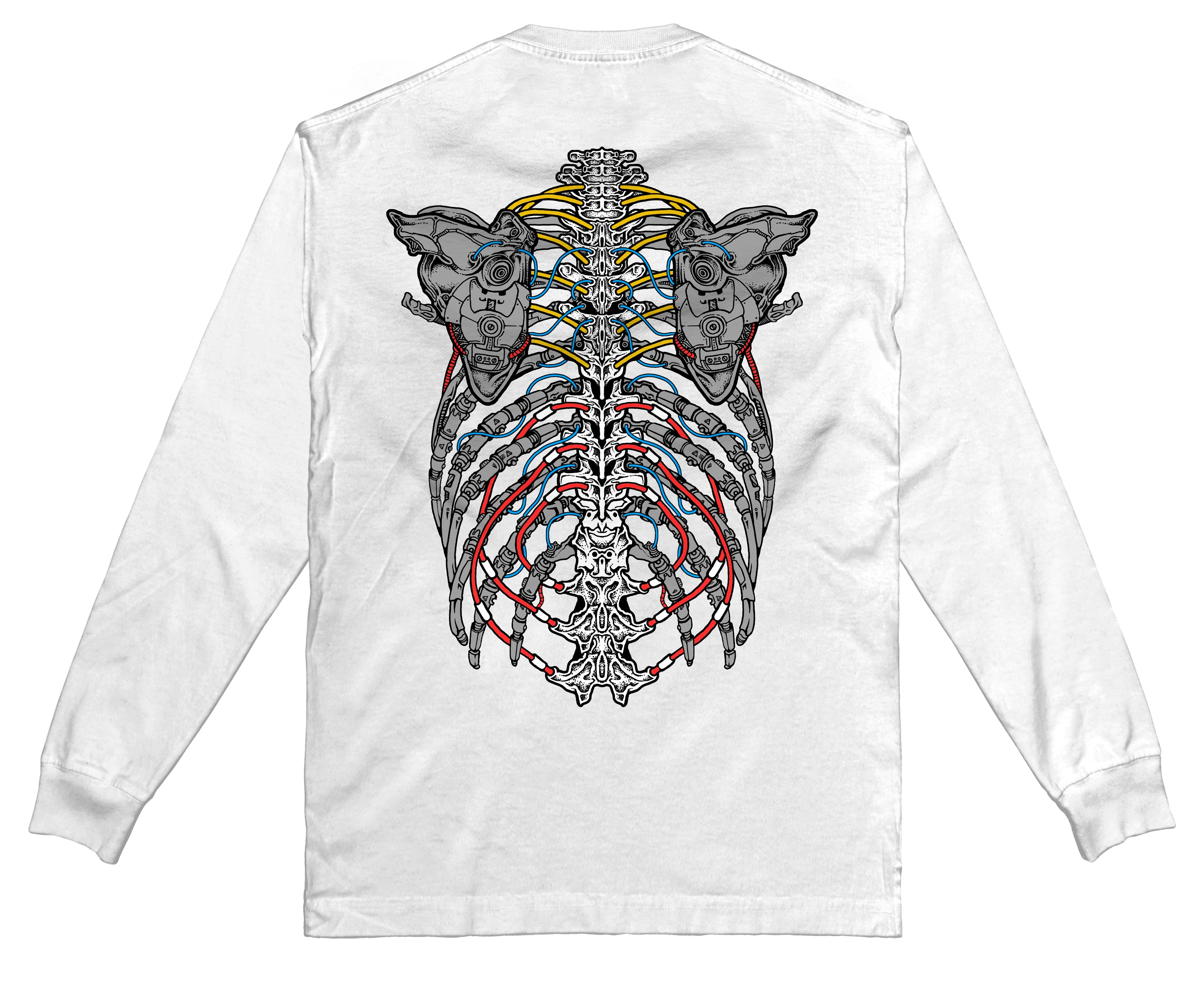 EXO - Long Sleeve (White) - RIPNRPR