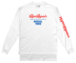 1988 - Long sleeve T-Shirt (White) - RIPNRPR